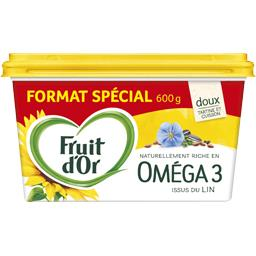 Fruit d'Or Margarine Oméga 3 tartine et cuisson, doux