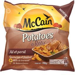 Potatoes à rôtir, ail et persil