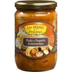 Les Mijotés de Provence Pieds et Paquets Sisteronnais le bocal de 600 g