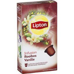 Capsules d'infusion Rooibos vanille