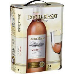 Pays d'oc merlot, vin rosé