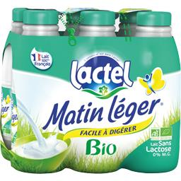 Matin Léger - Lait écrémé sans lactose BIO