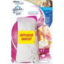 Glade Touch & Fresh - Désodorisant diffuseur mobile Relaxi... la recharge de 10 ml