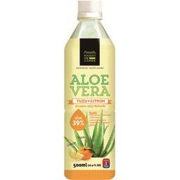 Maison de Corée Aloe Vera - Boisson Yuzu & Citron la brique de 500 ml