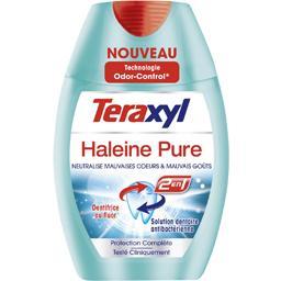 Dentifrice au fluor 2en1 Haleine Pure