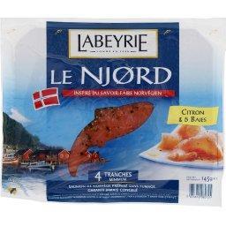 Le Njord - Saumon de Norvège non fumé citron & 5 baies