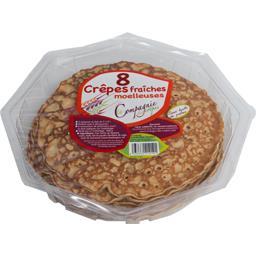 La Compagnie des Crêpes Crêpes fraîches moelleuses le paquet de 8 - 440 g