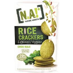Rice Crackers - Crackers légumes chou kale