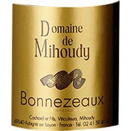 Bonnezeaux Domaine Mihoudy vin Blanc moelleux 2017