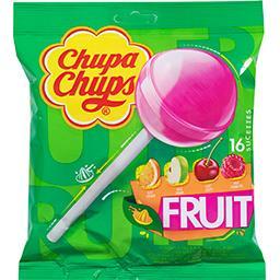 Chupa Chups Chupa Chups Sucettes aux goûts fruits le sachet de 16 - 192 g