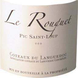 Coteaux du Languedoc vin rouge Pic St Loup Rouquet