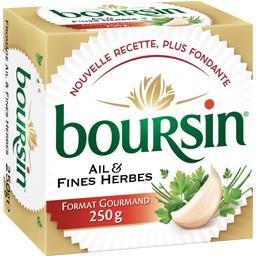Boursin Boursin Fromage ail & fines herbes la boite de 250 g