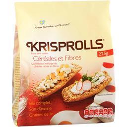 Petits pains suédois céréales et fibres