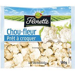 Florette Florette Chou-fleur à croquer le sachet de 180 g