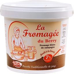 Fromage blanc de campagne 7%