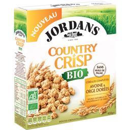 Country  Crisp - Céréales complètes avoine & orge do...