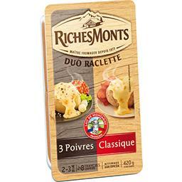 Les Idées Raclette - Fromage à raclette Classique/3 ...