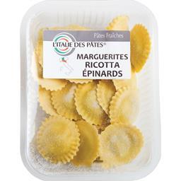 Marguerites ricotta épinards
