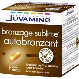 Complément alimentaire auto bronzant activateur bonn...