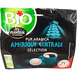 Dosettes café BIO d'Amérique Centrale