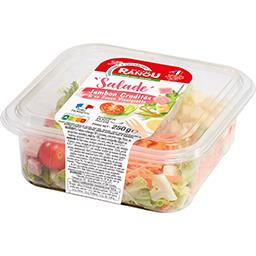 La Salade jambon crudités