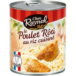 La poule au riz, crème fraîche de Normandie