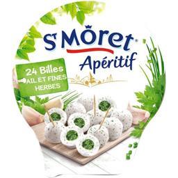 St Môret St Môret Billes Apéritif ail & fines herbes la boite de 100 g