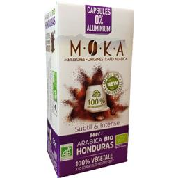 Capsules de café arabica Honduras BIO, subtil & inte...