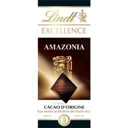 Excellence - Chocolat noir Amazonia aux notes acidulées de fruits secs