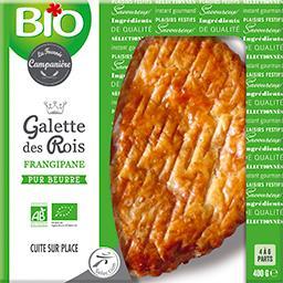 Bio La Fournée Campanière Galette des Rois frangipane BIO la boite de 400 g