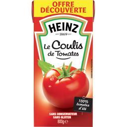 Le Coulis de tomates