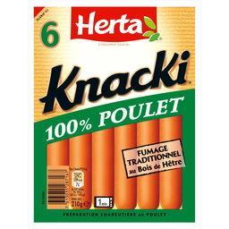 Herta Herta Knacki - Saucisses 100% poulet
