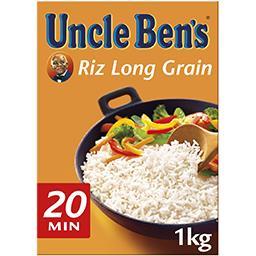 Uncle Ben's Uncle Ben's Riz long grain Tradition 20 minutes la boite de 1 kg