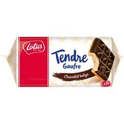 Tendre gaufre au chocolat belge