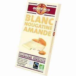 Chocolat blanc BIO République Dominicaine nougatine amande