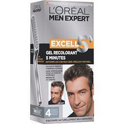 Men Expert Excell 5 minutes, 4 châtain profond natur...