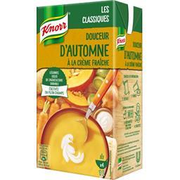 Knorr Knorr Soupe Douceur d'Automne à la crème fraîche la brique de 1 l