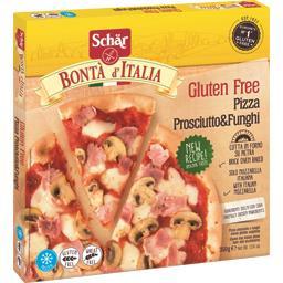 Bontà d'Italia - Pizza prosciutto & Funghi sans gluten