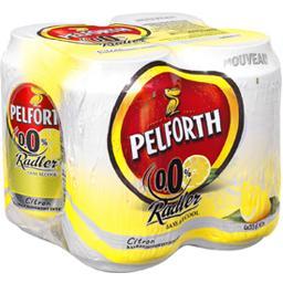 Bière Radler citron sans alcool