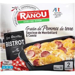 Gratin de pommes de terre saucisse de Montbéliard & ...