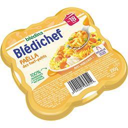 Blédina Blédina Blédichef - Paëlla des tout-petits, dès 18 mois l'assiette de 250 g