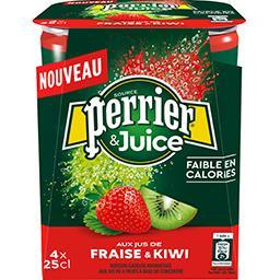 Perrier & Juice - Boisson gazeuse frais & kiwi