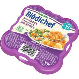 Blédina Blédina  - Petits légumes et mousseline de patate d... la barquette de 250 g