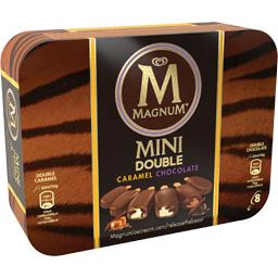 Mini glaces Double Caramel & Double Chocolate