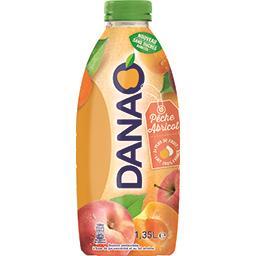 Danao Danao Boisson pêche abricot sans sucres ajoutés la bouteille de 1,35 l