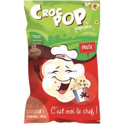 Croc Pop Pop corn fraise le paquet de 90 g