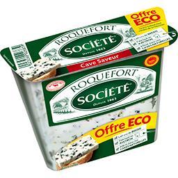 Société Société Roquefort Cave Saveur la boite de 150 g