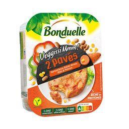 Bonduelle Pavé Haricot Brun, Patate douce, Maïs & Poivron 180g