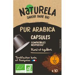 Capsules de café pur arabica BIO