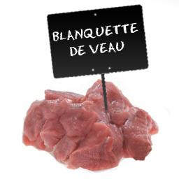 VEAU Blanquette**avec os